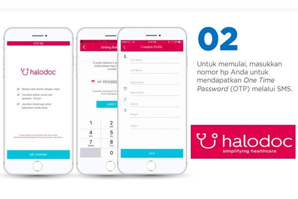 daftar aplikasi Halodoc