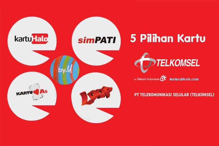 Pilihan Produk Kartu Seluler Telkomsel