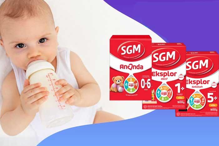 Susu SGM untuk Tumbuh Kembang Anak